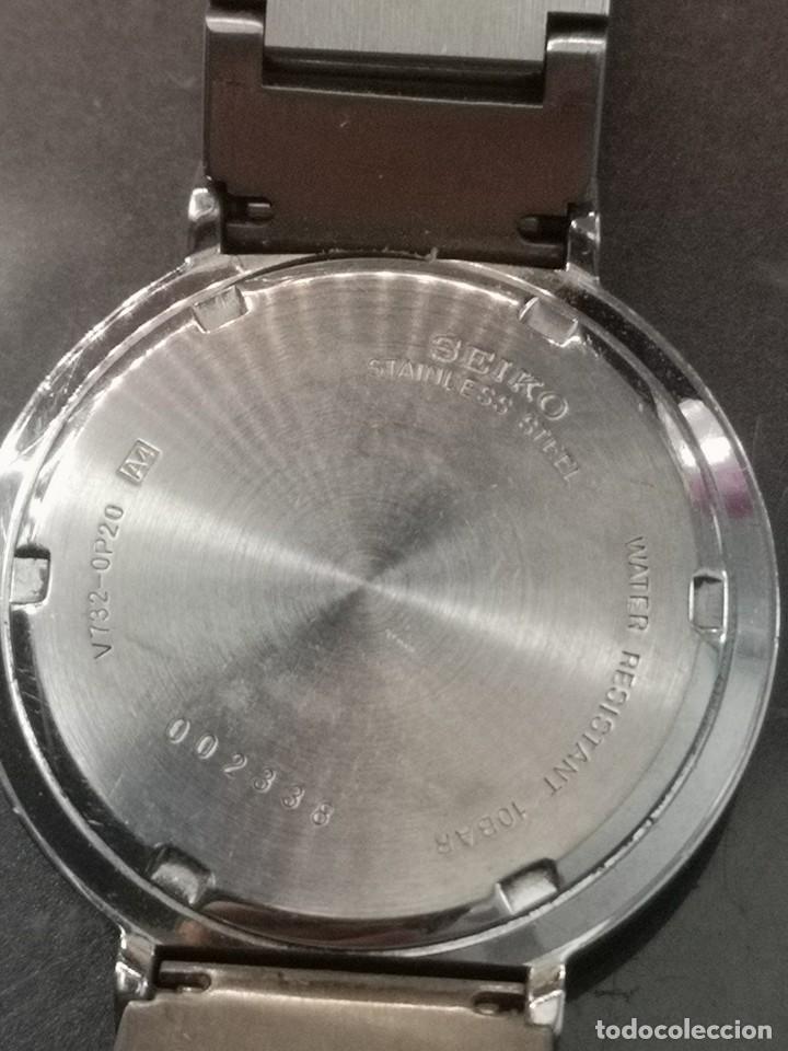 Relojes - Seiko: reloj seiko v732-0p20 - Foto 5 - 190873191