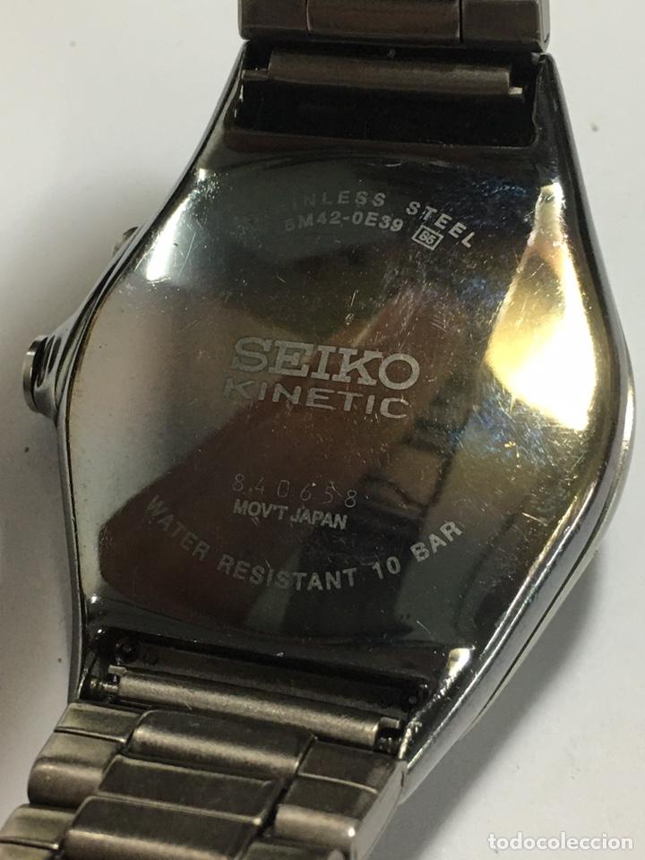 Relojes - Seiko: Reloj VINTAGE SEIKO KINETIC 5M42-0E39 JAPAN - Foto 2 - 191104707