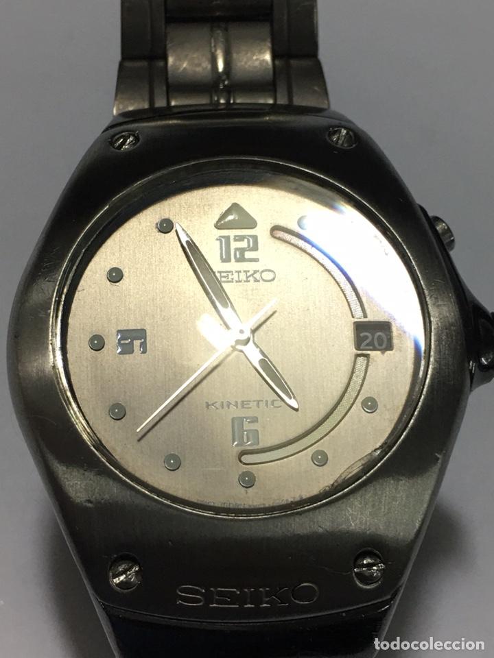RELOJ VINTAGE SEIKO KINETIC 5M42-0E39 JAPAN (Relojes - Relojes Actuales - Seiko)