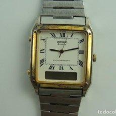 Relojes - Seiko: VINTAGE RELOJ DE PULSERA SEIKO QUARTZ ALARM CHRONOGRAPH JAPAN. Lote 191123926