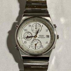 Relojes - Seiko: SEIKO QUARTZ CHRONOGRAPF 7T32 . . Lote 191782740
