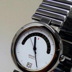 Relojes - Seiko: ELEGANTE RELOJ SEIKO AÑOS 80 DE CUARZO CALIBRE 2A32 TAMAÑO CADETE Y NUEVO A ESTRENAR. Lote 192623933