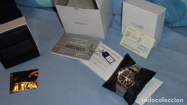 Relojes - Seiko: SEIKO CRONO CAESAR Ref. SNDA13P1 Excelente estado. - Foto 10 - 193573225