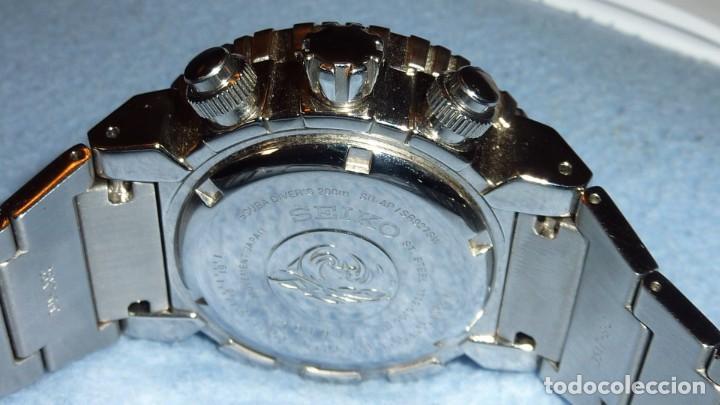 Relojes - Seiko: SEIKO CRONO CAESAR Ref. SNDA13P1 Excelente estado. - Foto 11 - 193573225