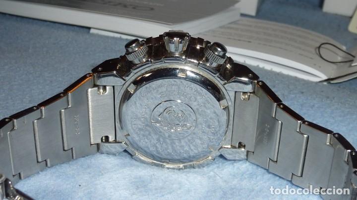 Relojes - Seiko: SEIKO CRONO CAESAR Ref. SNDA13P1 Excelente estado. - Foto 12 - 193573225