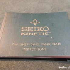 Relojes - Seiko: MANUAL SEIKO. KINETIC. Lote 193720781