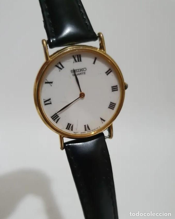 Relojes - Seiko: ELEGANTE RELOJ SEIKO QUARZ UNISEX. - Foto 2 - 194149465