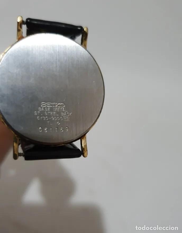 Relojes - Seiko: ELEGANTE RELOJ SEIKO QUARZ UNISEX. - Foto 3 - 194149465