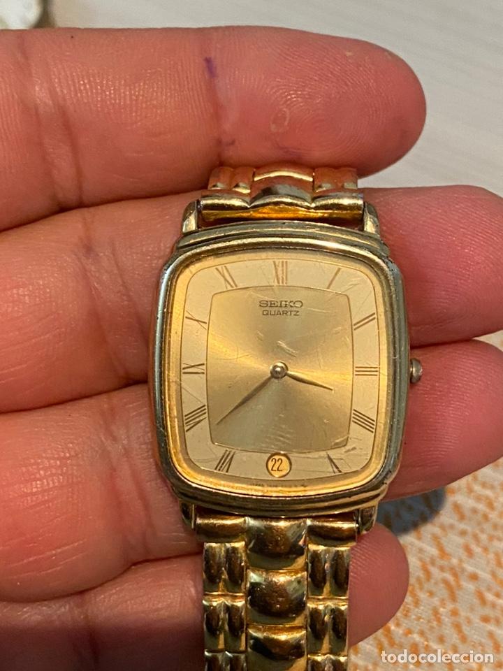 Relojes - Seiko: Reloj seiko Quartz antiguo - Foto 3 - 194250401
