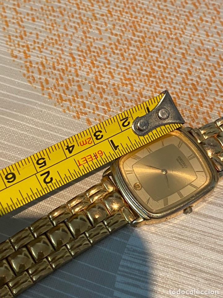 Relojes - Seiko: Reloj seiko Quartz antiguo - Foto 5 - 194250401