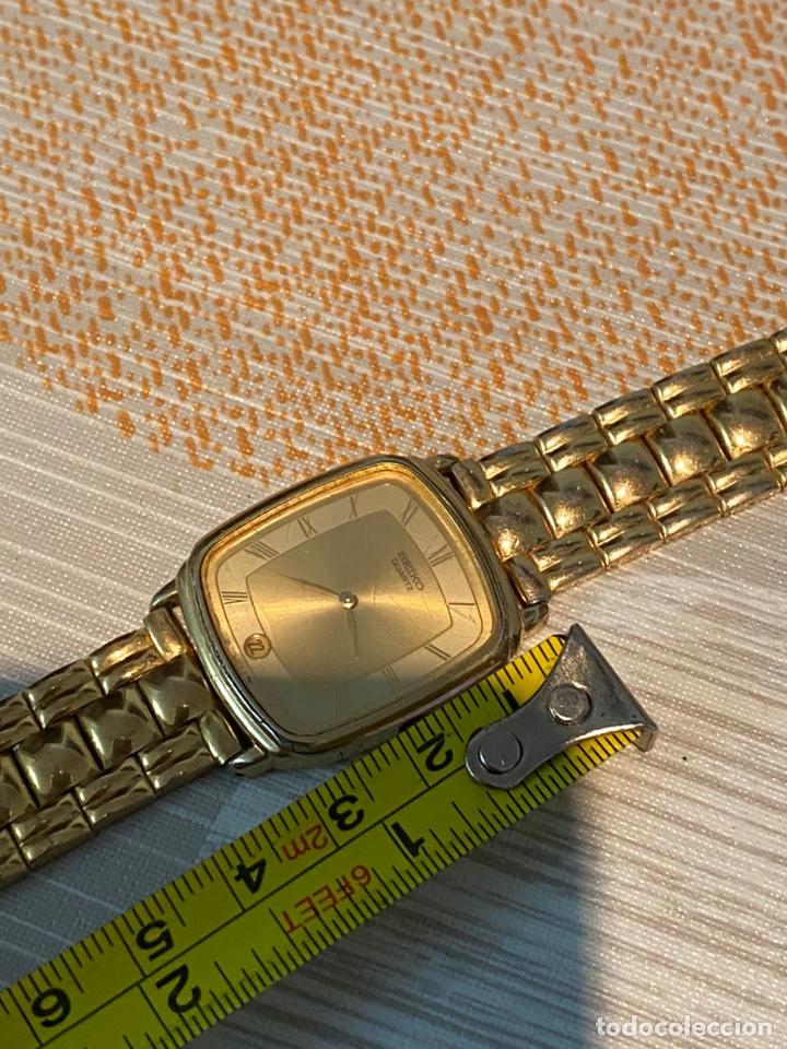 Relojes - Seiko: Reloj seiko Quartz antiguo - Foto 6 - 194250401