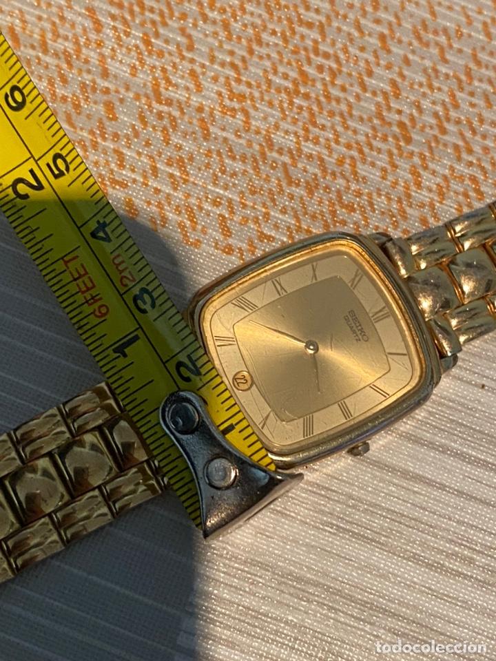 Relojes - Seiko: Reloj seiko Quartz antiguo - Foto 7 - 194250401