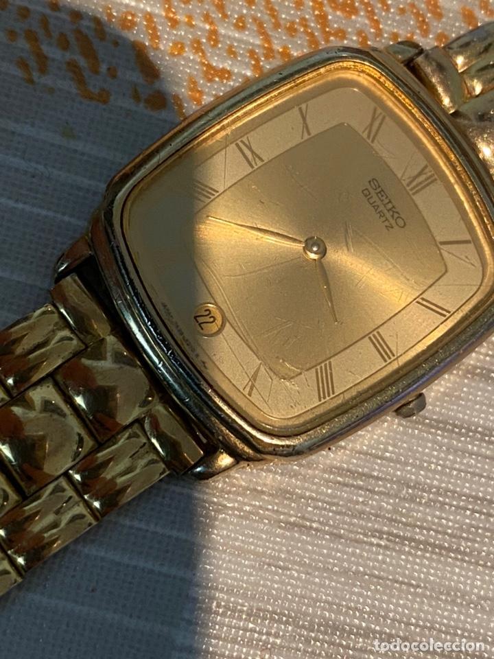 Relojes - Seiko: Reloj seiko Quartz antiguo - Foto 8 - 194250401
