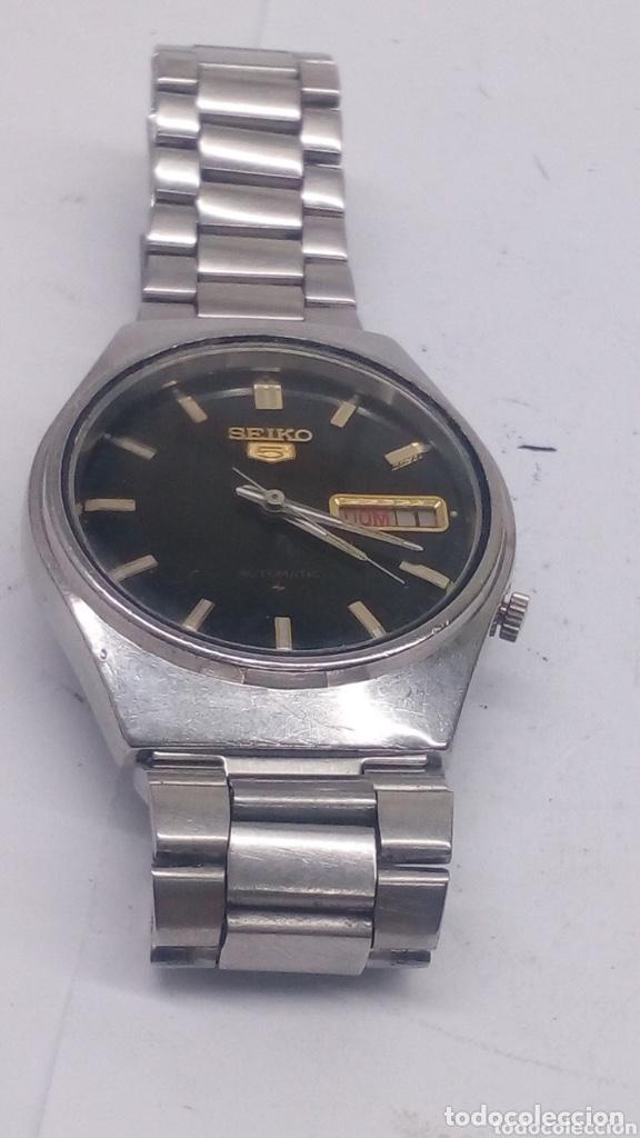 Relojes - Seiko: Reloj automático seiko 5 acero completo - Foto 2 - 194492787