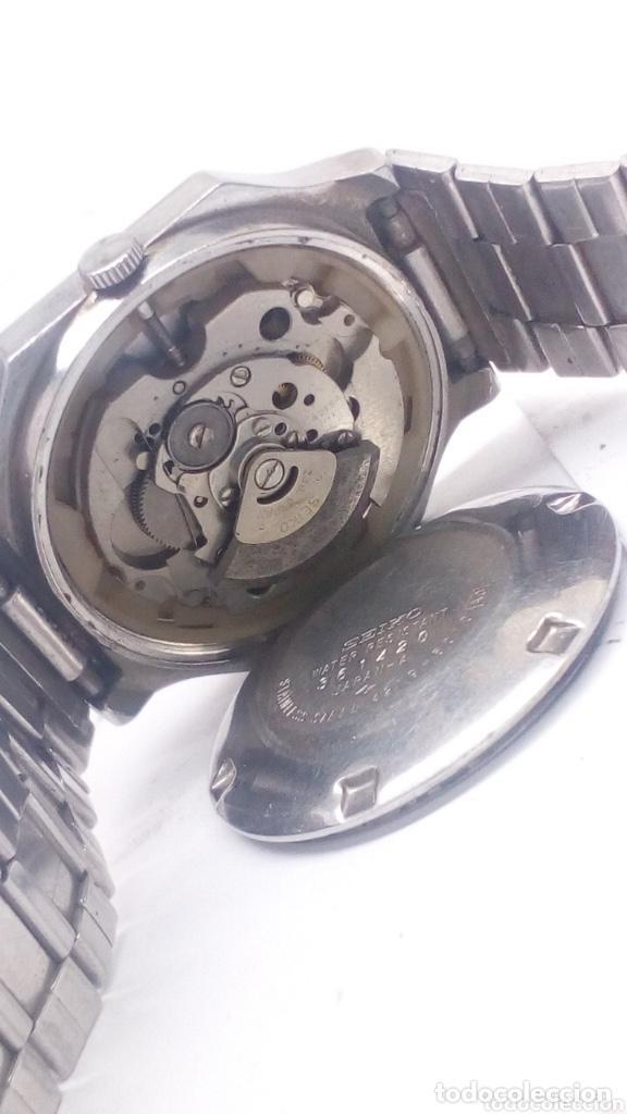 Relojes - Seiko: Reloj automático seiko 5 acero completo - Foto 4 - 194492787