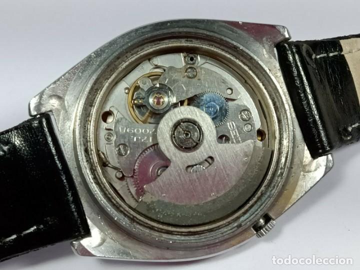 Relojes - Seiko: Vintage Seiko 5 Movimiento automático, reloj analógico con dial de fecha y día - Foto 8 - 194588711