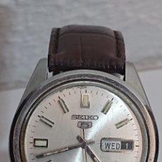 Relojes - Seiko: RELOJ SEIKO 5 AUTOMÁTICO ACERO FUNCIONA. Lote 194711185