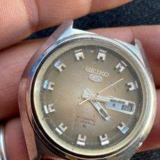 Relojes - Seiko: RELOJ SEIKO ANTIGUO AUTOMÁTICO 21 JEWELS FUNCIONA PERO AVECES FALLA. Lote 194930223