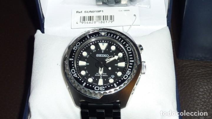 """Relojes - Seiko: SEIKO KINETIC Ref. SUN019P1 DIVER- CRISTAL ZAFIRO. CONOCIDO COMO The Vader-Tuna-Turtle or """"VaTT - Foto 11 - 195053058"""