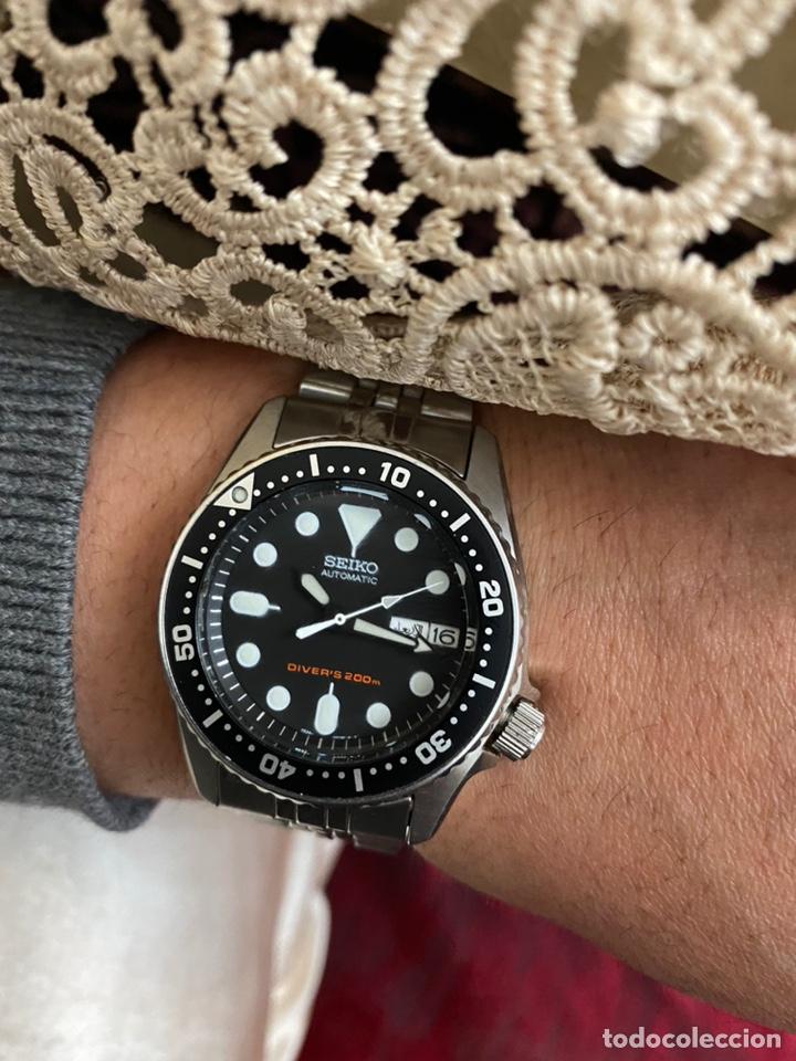 Relojes - Seiko: Reloj seiko automático Diver's 200m - excelente estado y funcionamiento - original - Foto 5 - 195196861