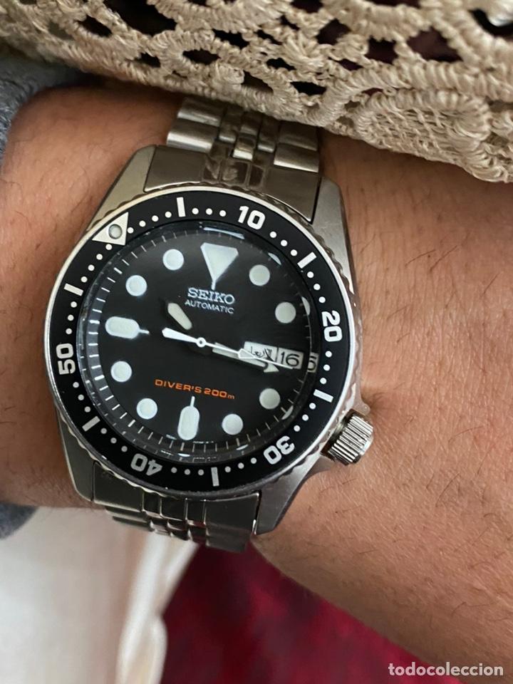 RELOJ SEIKO AUTOMÁTICO DIVER'S 200M - EXCELENTE ESTADO Y FUNCIONAMIENTO - ORIGINAL (Relojes - Relojes Actuales - Seiko)