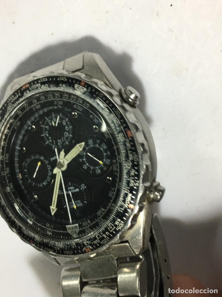 Relojes - Seiko: RELOJ SEIKO 7T34-6A00 funciona el crono no parece que vaya - Foto 2 - 195357027