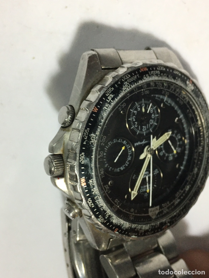 Relojes - Seiko: RELOJ SEIKO 7T34-6A00 funciona el crono no parece que vaya - Foto 3 - 195357027