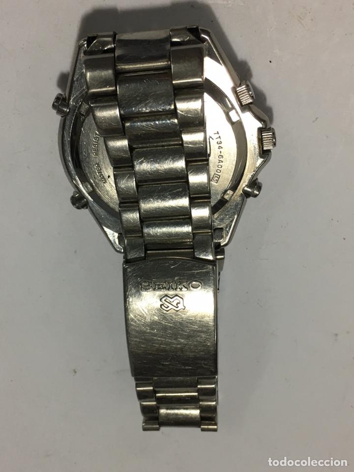 Relojes - Seiko: RELOJ SEIKO 7T34-6A00 funciona el crono no parece que vaya - Foto 4 - 195357027