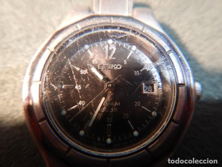 Relojes - Seiko: Seiko titanium Sq 50 - Foto 10 - 195369198