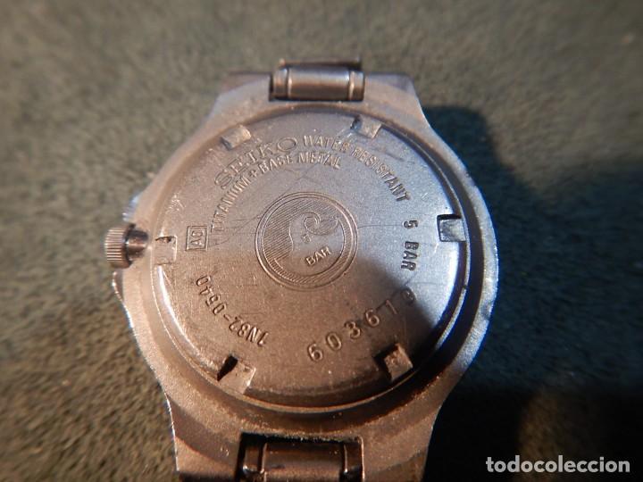Relojes - Seiko: Seiko titanium Sq 50 - Foto 2 - 195369198