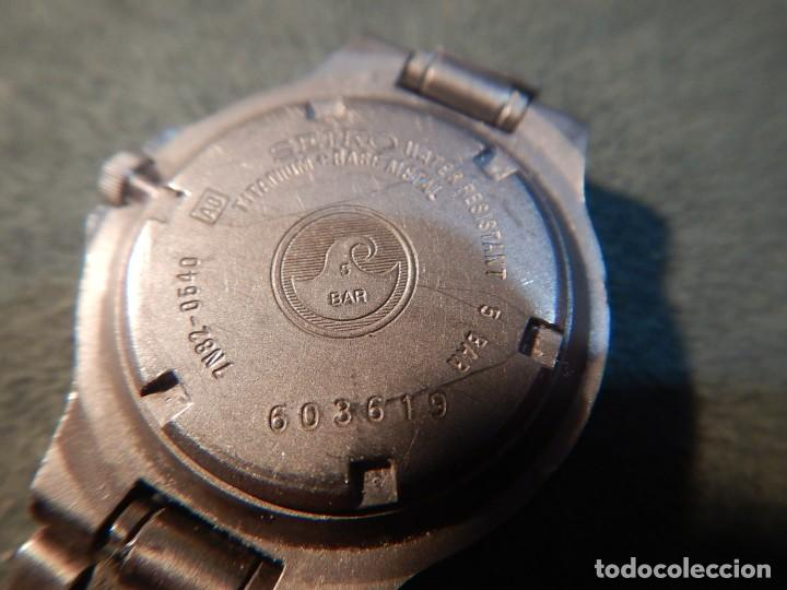 Relojes - Seiko: Seiko titanium Sq 50 - Foto 3 - 195369198