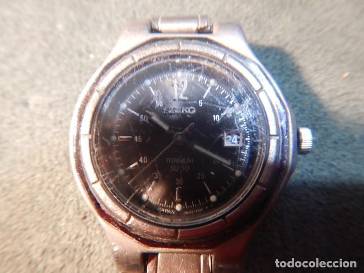 Relojes - Seiko: Seiko titanium Sq 50 - Foto 5 - 195369198