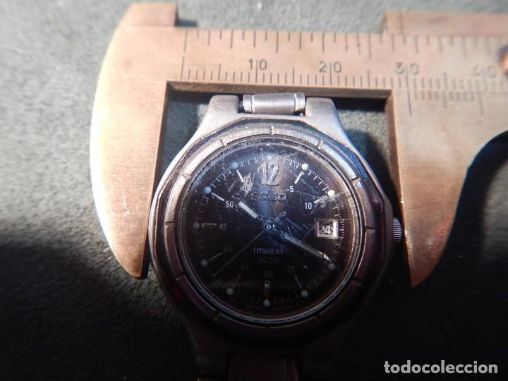 Relojes - Seiko: Seiko titanium Sq 50 - Foto 6 - 195369198