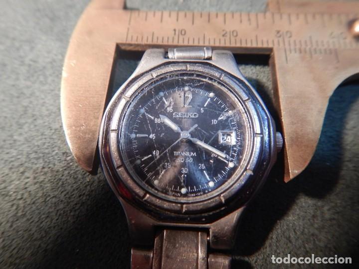 Relojes - Seiko: Seiko titanium Sq 50 - Foto 9 - 195369198