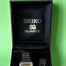 Relojes - Seiko: SEIKO H557-506B ANALOGICO Y DIGITAL QUARZT MADE IN JAPAN + ESTUCHE .-FUNCIONA. Lote 195567292