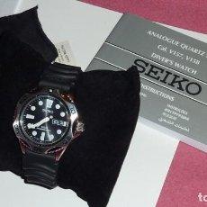 Relojes - Seiko: SEIKO SOLAR SCUBA DIVER SPORTS SNE107P2 200 METROS SUMERGIBLE. ECOLÓGICO. NO NECESITA PILA. Lote 196002070