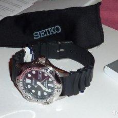 Relojes - Seiko: SEIKO SOLAR QUARTZ SCUBA DIVER SPORTS SNE107P2 200 METROS SUMERGIBLE. ECOLÓGICO. NO NECESITA PILA. Lote 196002070