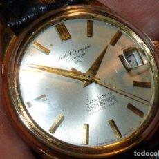 Relojes - Seiko: ELEGANTE SEIKO SEA HORSE 1964 CHAMPION SEIKOSHA 7622 CALENDAR 860 DIASHOCK 17 RUBIS CUERDA MANUAL. Lote 196662661