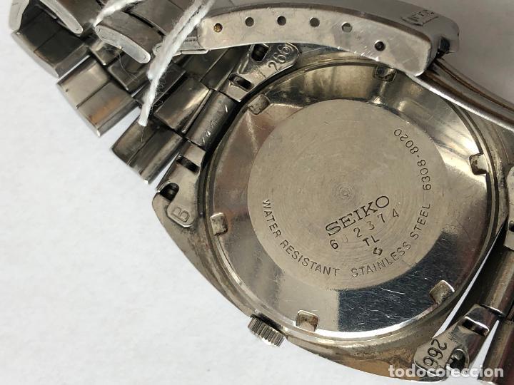 Relojes - Seiko: RELOJ SEIKO 6308-8020 VINTAGE - Foto 5 - 197641007
