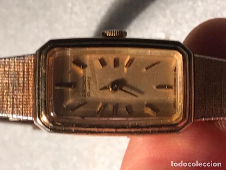 Relojes - Seiko: Reloj SEIKO QUARZ STEEL BACK JAPAN 220198 - Foto 3 - 197854095