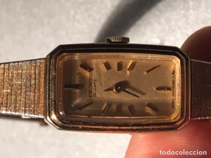 Relojes - Seiko: Reloj SEIKO QUARZ STEEL BACK JAPAN 220198 - Foto 4 - 197854095