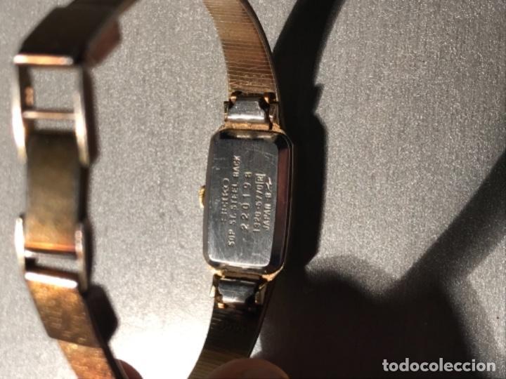 Relojes - Seiko: Reloj SEIKO QUARZ STEEL BACK JAPAN 220198 - Foto 11 - 197854095