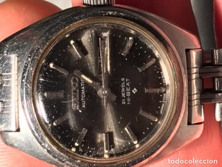 Relojes - Seiko: RELOJ SEIKO AUTOMÁTICO 21 JEWELS HI BAET 129046 - Foto 4 - 197854265