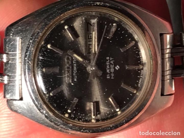 Relojes - Seiko: RELOJ SEIKO AUTOMÁTICO 21 JEWELS HI BAET 129046 - Foto 5 - 197854265