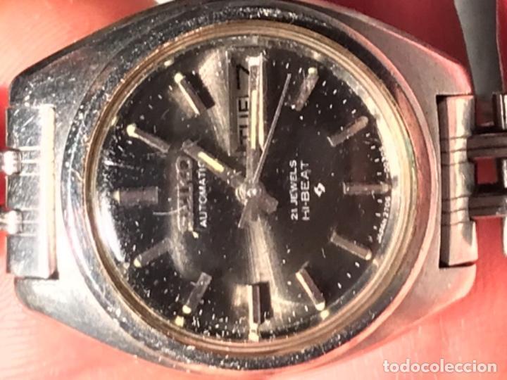 Relojes - Seiko: RELOJ SEIKO AUTOMÁTICO 21 JEWELS HI BAET 129046 - Foto 6 - 197854265