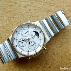 Relógios - Seiko: SEIKO ACERO Y ORO, CRONO Y CON FASE LUNAR. . Lote 197871033
