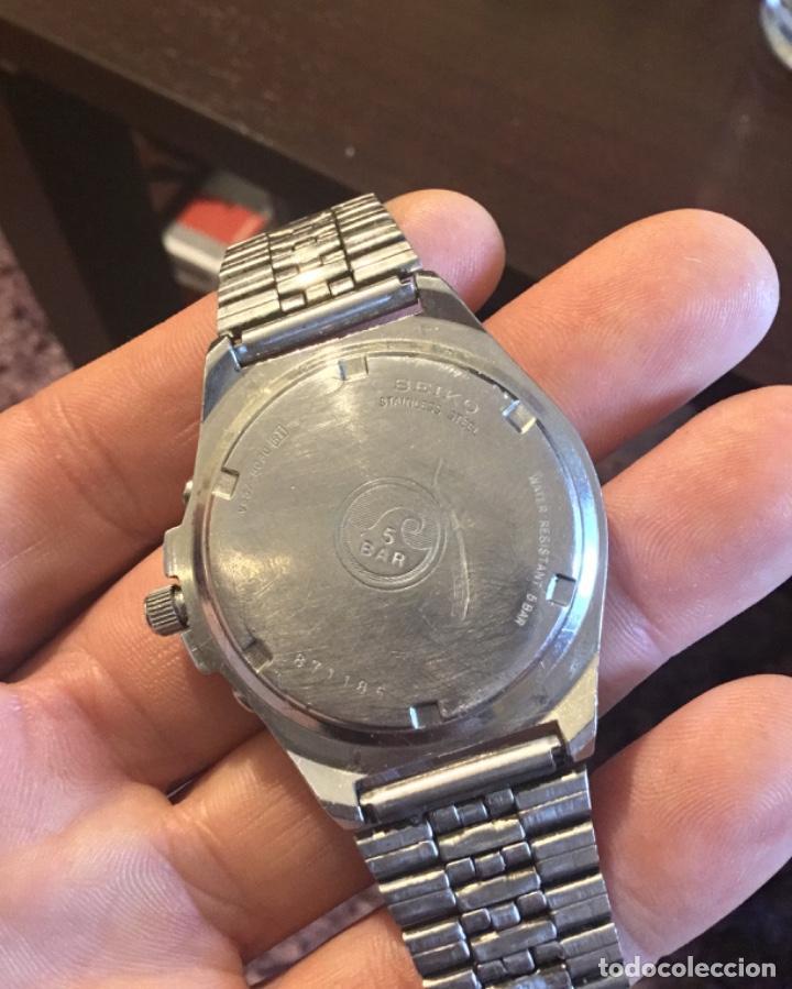 Relojes - Seiko: Fabuloso reloj Seiko cronografo gran diámetro - Foto 8 - 198282216