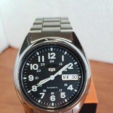 Relojes - Seiko: RELOJ DE CABALLERO (VINTAGE) SEIKO AUTOMÁTICO 21 RUBIS CON DOBLE CALENDARIO A LAS TRES CALIBRE 7S26C. Lote 199053396