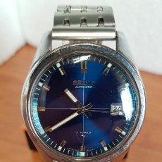 Relógios - Seiko: RELOJ DE CABALLERO (VINTAGE) SEIKO AUTOMÁTICO 17 RUBIS CON CALENDARIO A LAS TRES CALIBRE 7005, ACERO. Lote 199059776