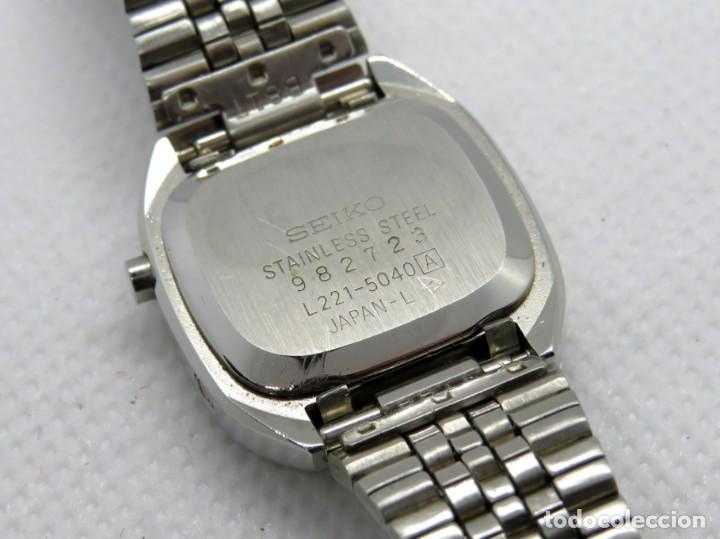 Relojes - Seiko: SEIKO cuarzo L.C.D. Lady - Foto 5 - 202779233